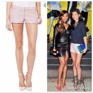 New Monika Chiang Petal  leather shorts buttery